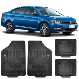 Kit Tapete Borracha Borcol Etios Sedan + Porta Malas