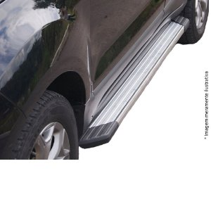 Estribo Bepo Duster Alumínio Polido SUVII Com Fixação
