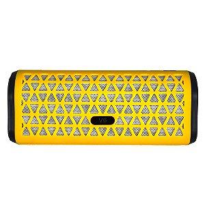 Caixa De Som Bluetooth V6 Portátil - Amarelo