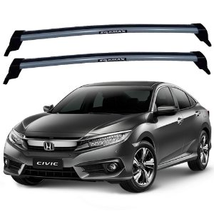 Rack Eqmax New Wave Civic A Partir 2017 - Prata