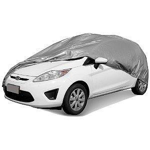 Capa Automotiva com Forro Parcial Lisa - Tamanho P