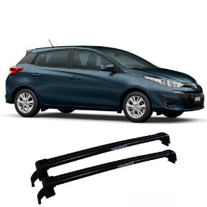 Rack Eqmax Yaris Hatch 2018 e 2019 New Wave - Preto