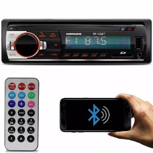 Som Automotivo Hurricane HR425 Bluetooth
