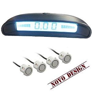 SENSOR DE RÉ 18.5mm 8 PONTOS C DISPLAY LCD OVERVISION PRATA