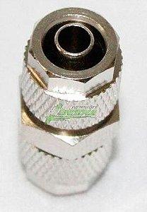Emenda (antivazamento) de metal para Mangueiras de 8mm