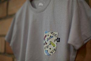 Camiseta Gio Cinza Suave