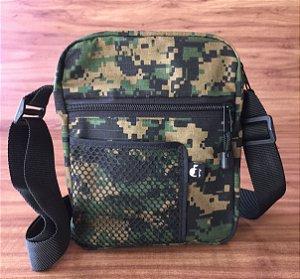 Shoulder Bag Camuflado Amarelo