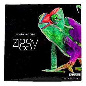 Papel Alumínio Ziggy 40 Micras 50fls