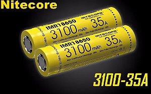 Bateria Nitecore 18650 Imr 3100 Mah 35a