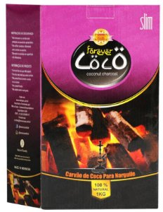 Carvão Forever Coco Slim 1kg