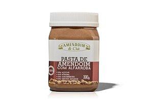 Pasta de Amendoim com Alfarroba (sem adição de açúcar) - 390g