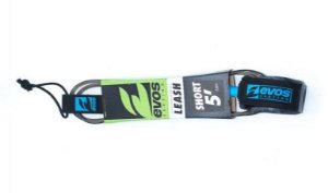 LEASH EVOS SURFING 5'x6MM PRETO E AZUL