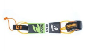 LEASH EVOS SURFING COMP 6'x5MM LARANJA