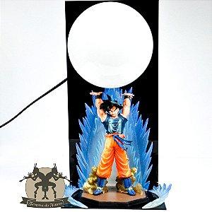 Luminária Dragon Ball Z - Son Goku