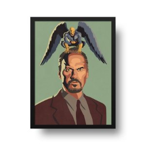 Quadro Decorativo Poster Cinema Filme Birdman - Minimalista