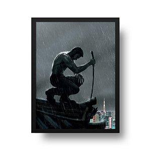 Quadro Decorativo Poster Cinema Filme The Wolverine - Hugh Jackman