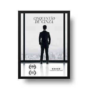 Quadro Decorativo Poster Para Pai Galã - Paródia, Filme, 50 Tons de Cinza
