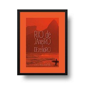 Quadro Poster Rio de Janeiro - Rio de Janeiro à Dezembro