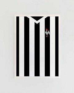 Quadro Decorativo Poster Alma Da City Galo - Camisa, Time, Futebol