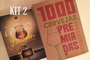 Edição 2015 + Edição 2018 Livro Cervejas Premiadas Brasileiras
