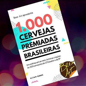 Anúncio cervejaria 1/2 pg no Livro 1000 Cervejas Premiadas Brasileiras + 7 exemplares