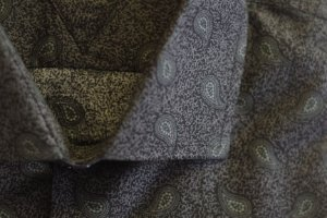 Camisa Slim Manga Longa Fio 80 Estampado