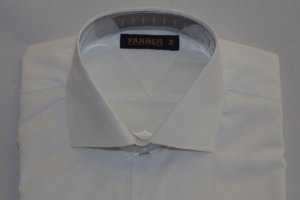 Camisa Slim Manga Longa Branca Fio 100 Acetinado