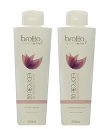 Kit BB Reducer Profissional Brotto Brasil - 900 ml