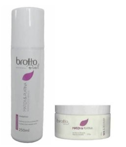 KIT MATIZA E PLATINA BROTTO BRASIL - 250 ml