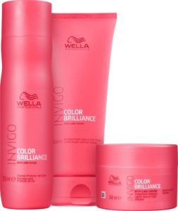 Kit Wella Invigo Color Brilliance - 3 Produtos