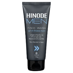 Hinode Men Face Wash - Pele Normal a Seca - 100 g