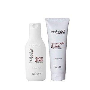 Shampoo e Máscara Capilar Hidratante Hobety