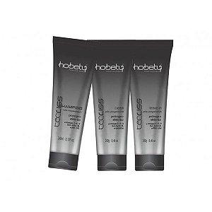 Kit Pós Progressiva Tec Liss 3 Produtos Shampoo, creme e leave in- Hobety