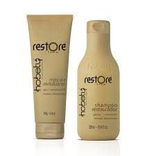 Kit Hobety Restore - Shampoo 300 ml + Máscara 240 g