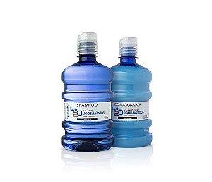 Kit Hobety H2O - Shampoo e Condicionador - 500 ml