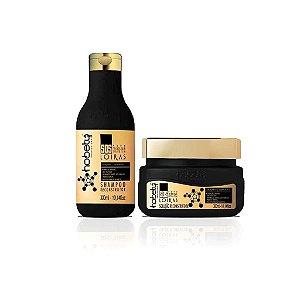 Kit Hobety S.O.S. Loiras - Shampoo 300 ml + Solução 300 g