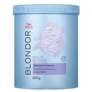 Wella Blondor Pó Descolorante - Multi Blonde - Dust Free - 800 g