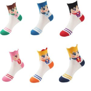 Kit meias Sailor Moon