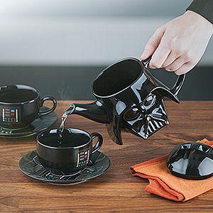 Conjunto de Chá-Café Star Wars Darth Vader
