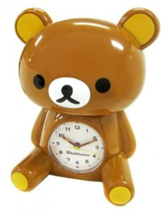 Relógio Despertador e Cofre - Rilakkuma