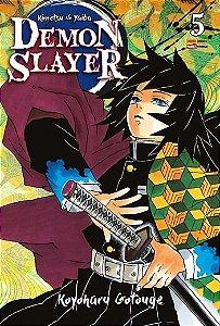 Pré Venda da Reimpressão - Demon Slayer: Kimetsu No Yaiba - Vol. 05