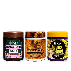 iLike Kit Loira de Autoridade - 03 Produtos