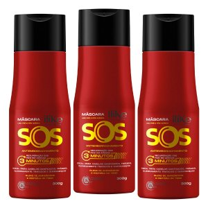 iLike SOS Antiemborrachamento - 3x 300ml