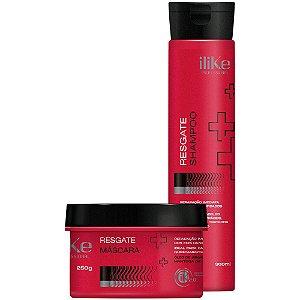 iLike Resgate Kit Duo - Shampoo e Máscara