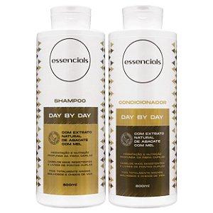 Essencials Kit Shampoo e Condicionador Day By Day - (2x800 ml)