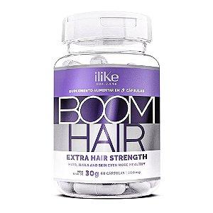 ILike Boom Hair Tratamento para Crescimento Capilar - 60 Capsulas