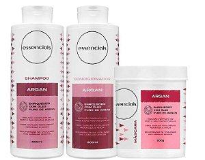 Essencials Kit Argan - 03 Produtos