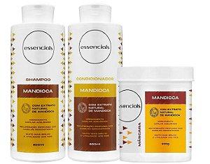 Essencials Kit Mandioca - 03 Produtos