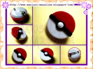 Broche de Pokebola - Pokemon