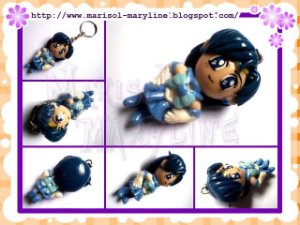 Chaveiro Sailor Mercury - Sailor Moon